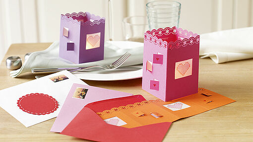 Make your own Valentine card