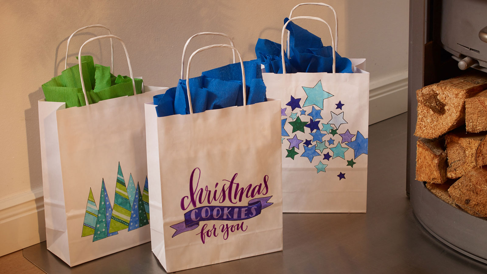 Decorating gift bags for christmas ideas edding