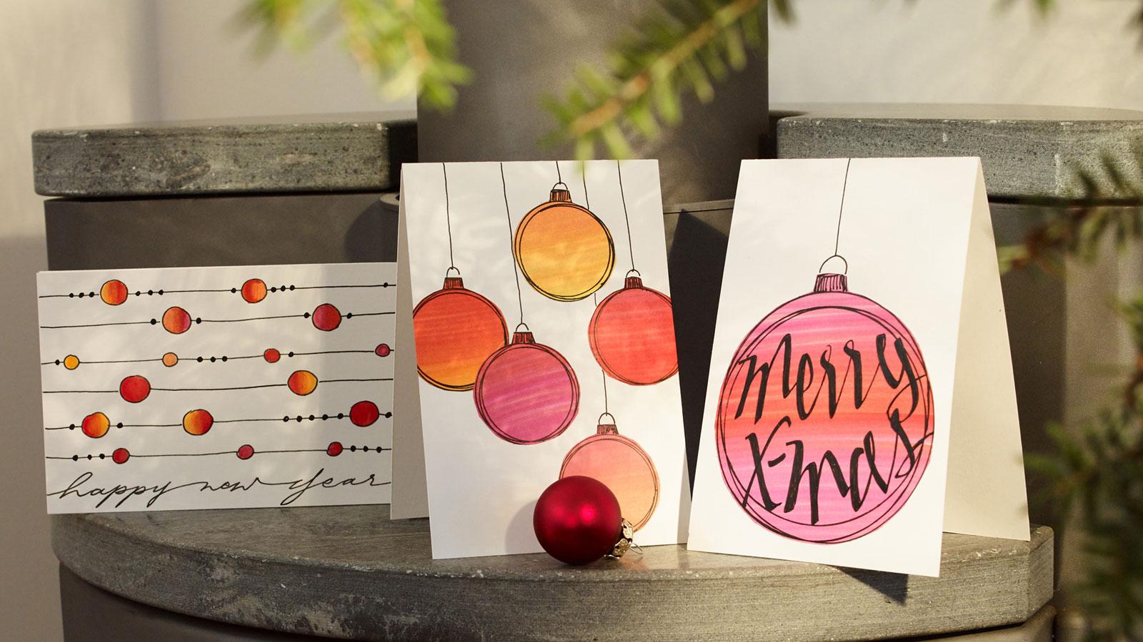 Draw Your Own Christmas Cards Ideas Edding