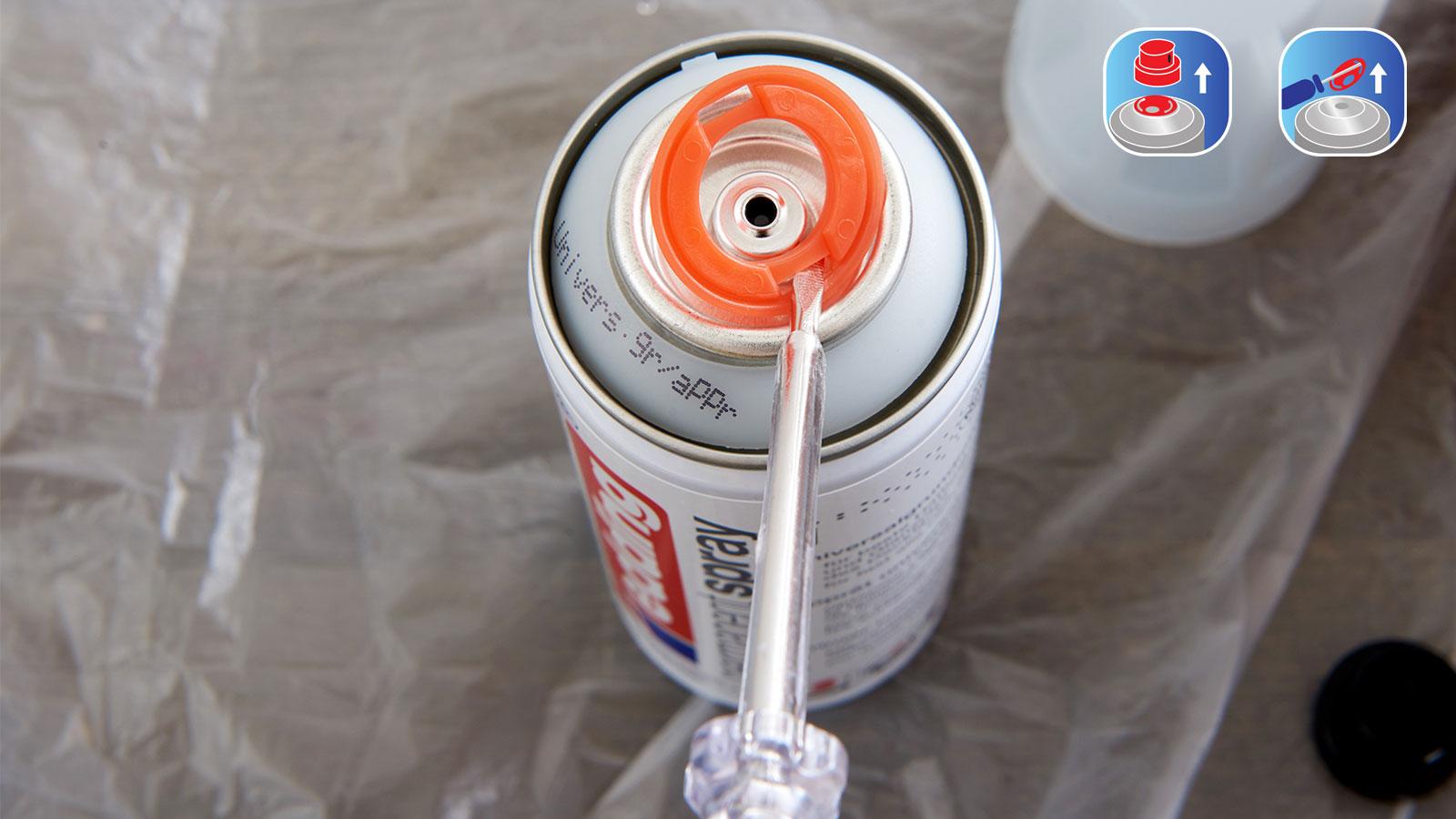 spray permanent – mode d'emploi - edding