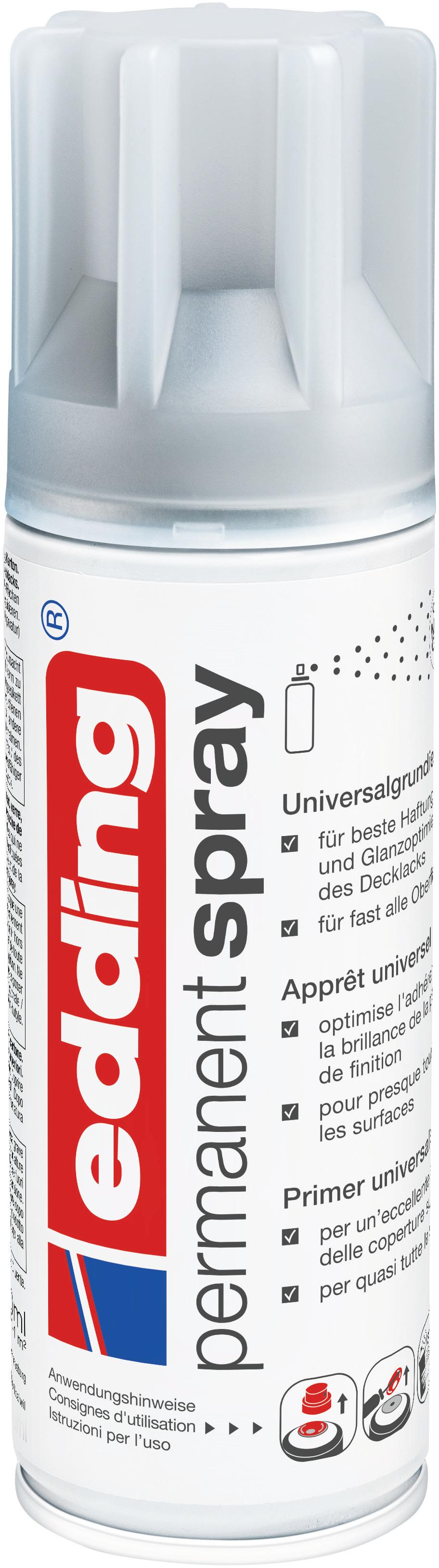 sprays permanents - groupes de produits - edding