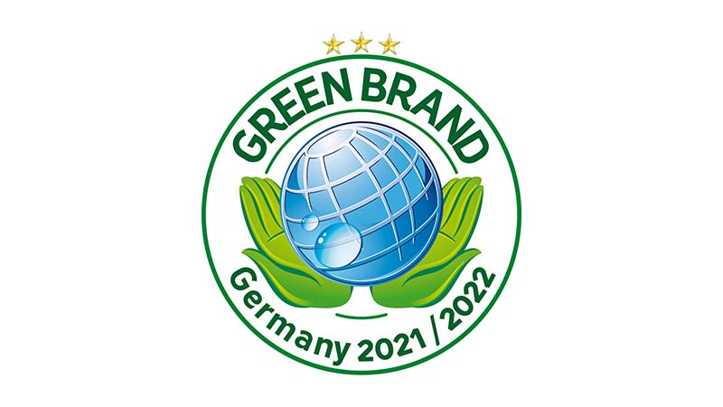 Award for ecologically sustainable brands - Green Brands Award